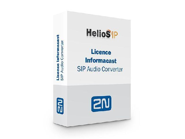 2N SIP Audio Converter License Informacast