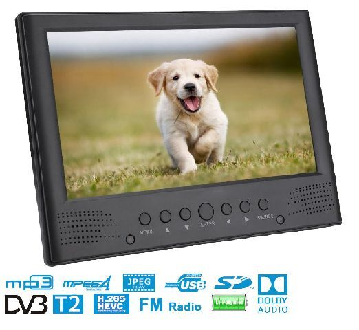 HD9LCD TV DVB-T/T2 portable TV