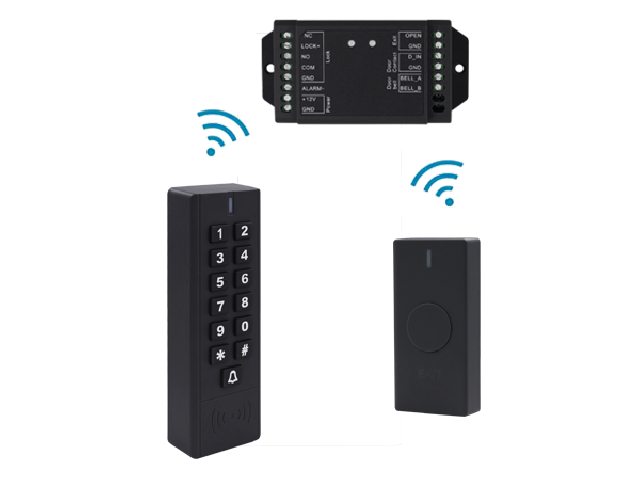SK7-EM Wireless Access Keypad Reader EM card